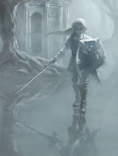 This is a Fan Art of Dark Link (Ocarina of Time). Deviantart Dark, Fantasy, Legend, Game Art, Pics, Video Game Art, Art, Pictures, Legend Of Zelda