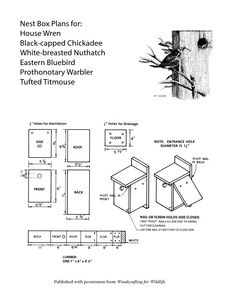 eastern bluebird house plans | bluebird house plans, bluebird