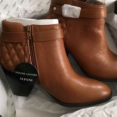 Brand new Alfani Booties Boots ‼️ 2 HOUR SALE Brand new Alfani Bootie.   Sales ends at 3:30pm 4/8/2016 Alfani Shoes Ankle Boots & Booties