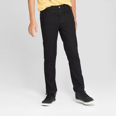 adf06b997d065 Boys  Skinny Fit Jeans - Cat   Jack™ Black Wash 8
