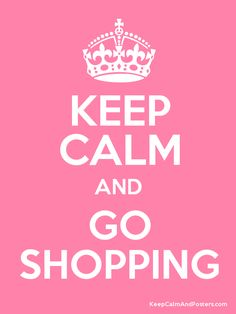 keep calm and go shopping on Ambazad of course :p