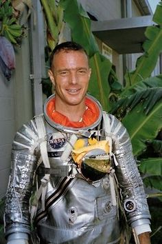 Scott Carpenter, May 1st, 1925 - October 10th, 2013. Project Mercury astronaut (second American in space) and ocean explorer with SEALAB.