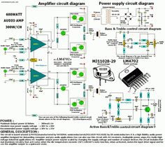 600W Audio Amplifier - Electronics-Lab