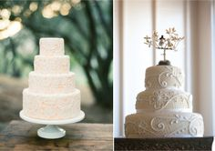 {Wedding Trends} : Lace Cakes by Belle The Magazine