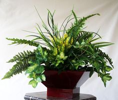 Lovely Table top Silk Plants