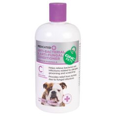 GNC Pets Anti-Bacterial Anti-Fungal Conditioner - Grooming Supplies - Dog - PetSmart