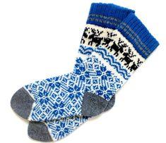 Classic Scandinavian Wool Socks with patterns. Women and Men wool socks. Warm Socks, Cold Day, Leg Warmers, Scandinavian, Wool, Patterns, Knitting, Classic, Handmade
