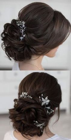 wedding beauty tips Featured Hairstyle: tonyastylist (Tonya Pushkareva) .com/tonyastylist/; Wedding Hairstyles For Long Hair, Wedding Hair And Makeup, Bride Hairstyles, Wedding Beauty, Pretty Hairstyles, Wedding Hair Roses, Hair Styles For Wedding, Easy Hairstyles, Stylish Hairstyles