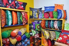 adire pillows by catyna designs | bellafricana digest