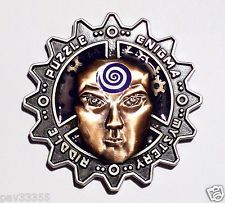 GCC - December 2009 - Mindbender Two Tone-Copper Face - New Unactivated Geocoin