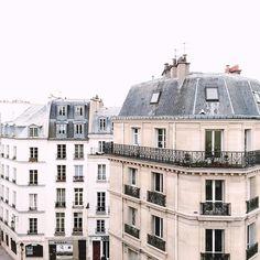 A Paris Adventure : inspiration, exploration and future plans Paris Buildings, Old Buildings, Paris Travel, France Travel, Old Building Photography, Places Around The World, Around The Worlds, Paris Rooftops, Beautiful Places