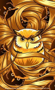 Owl by anggatantama