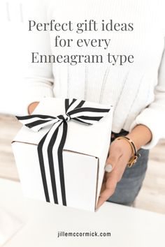 What gift should you get for her? Is there the perfect present for him? Read on for great gift ideas perfect for every Enneagram type. You\'ll want to read for great gifts for every Enneagram type on your list.