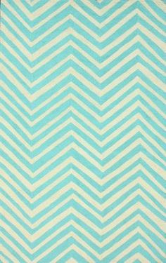 Rugs USA Homespun Chevron Aqua Rug $142, 5x8' awesome fall sale right now!!