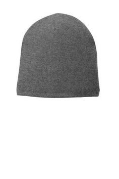 6f78e4588e2b6 Port   Company® Fleece-Lined Beanie Cap. A soft fleece lining adds warmth  to this versatile beanie. Fabric acrylic with polyester fleece lining.