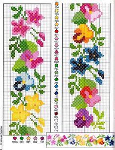 Brilliant Cross Stitch Embroidery Tips Ideas. Mesmerizing Cross Stitch Embroidery Tips Ideas. Cross Stitch Bookmarks, Cross Stitch Borders, Cross Stitch Rose, Cross Stitch Flowers, Cross Stitch Designs, Cross Stitching, Cross Stitch Embroidery, Embroidery Patterns, Cross Stitch Patterns