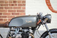 "Racing Cafè: Honda ""Exec 550"" by Kott Motorcycles"