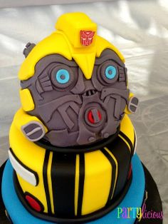 Transformer Theme Party via #babyshowerideas4u #babyshowerideas Baby shower ideas for boy or girl