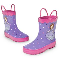 Sofia Rain Boots for Girls