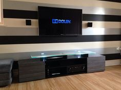 tv unit with speakers - Google Search