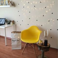Wall Sticker Triangle  PVC  for kids room decoration
