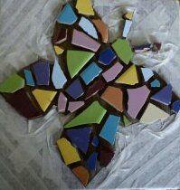 Workshop mozaieken met tegeltjes