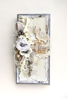 Online store for scrapbooking products ScrapMan: The results of the task Soon, soon the New Year! Create Christmas Cards, Junk Journal, Gift Tags, Joy, Scrapbook, Handmade Cards, Frame, Mixed Media, Gifts