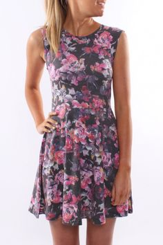 All About Eve - Rose Skater Dress