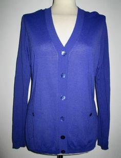 * * * Elegance Strickjacke blau, Gr.42 * * * Elegant, Sweaters, Fashion, Clothing Accessories, Jackets, Knit Jacket, Fashion Women, Blue, Breien