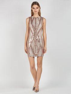 09dfbcc04a64 Φόρεμα βραδινό αμάνικο σε ίσια γραμμή και μήκος μέχρι το γόνατο. Το φόρεμα  είναι από