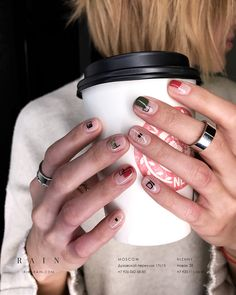 32 the spring 2019 nail trends you need to know 23 Minimalist Nails, Cute Nails, Pretty Nails, Hair And Nails, My Nails, Nagellack Trends, Geometric Nail, Manicure Y Pedicure, Nail Trends