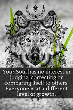 "Listen to your Soul wisdom. It's the ""spiritual ego"" that seeks to judge and condemn others for their level of growth."