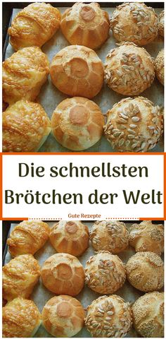 Die schnellsten Brötchen der Welt The fastest rolls in the world bake Vegan Breakfast Recipes, Brunch Recipes, Cooking Bread, Cooking Recipes, No Carb Bread, Chocolate Chunk Cookies, Pampered Chef, Food And Drink, Yummy Food