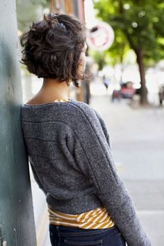 25 Short Hairstyles That'll Make You Want to Cut Your Hair Love! The short curly tousled hair look. Best Short Curly Hairstyles for womens Shaggy Bob - Although this bob is curly and shaggy, it keeps a perfect shape of a stacked chin-length bob Curly Shag Haircut, Curly Haircuts, Messy Hairstyles, Layered Hairstyles, Hairstyle Ideas, Hairstyles 2016, Medium Hairstyles, Formal Hairstyles, Latest Hairstyles