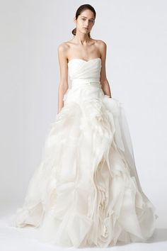 #2009/2010 Wedding Bridal Dresses Fashion of Vera Wang - New Fashion 2011, Latest Fashion Trends for Women