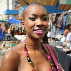 MY GIRL DERICA! ---There is nothing more beautiful than confidence. Go Bald! Go Woman