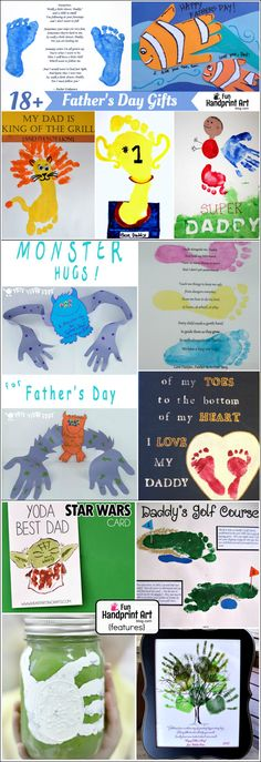 18 of the Most Precious Handprint Gifts for Dads