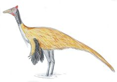 Pelecanimimus polydon. Dinosauria, Theropoda, Ornithomimosauria. Auteur : El fosilmaníaco, 2014. Extinct Animals, Prehistory, Natural History, Restoration, Lego, Friends, Amigos, Legos, Prehistoric