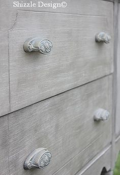 a little bit o' Shizzle: Antique Buffet in Layered Pittsburgh Gray  http://alittlebitoshizzle.blogspot.com/2012/11/antique-buffet-in-layered-french-gray.html