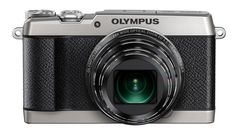 I love the look (and features) of this Olympus SH-2 Digital Compact Camera - Silver. I had the Olympics Trip when I was younger, the film camera on which this is based. This is a great bit of retro styling.