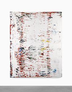 Gerhard Richter | Abstraktes Bild - 1991, oil on canvas, 200 by 160 cm.