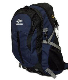 1954367b62b60 Senterlan 1001 Navy Blue Travel Backpack
