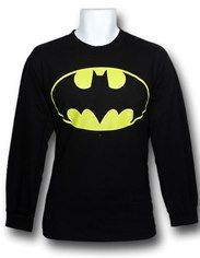 Batman Long-Sleeve Symbol T-Shirt