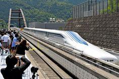 CRÓNICA FERROVIARIA: Japón: A 603 kilómetros por hora