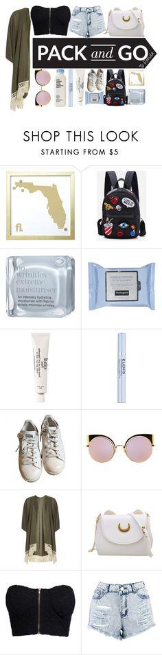 """""""pack n go"""" by dope-daisies ❤ liked on Polyvore featuring MikeyLins by Petal Lane, This Works, Neutrogena, philosophy, Elemis, adidas, Fendi, Dorothy Perkins, WithChic and NLY Trend"""
