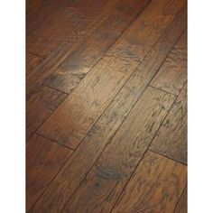 Home Legend Distressed Barrett Hickory in. x Varying Length Engineered Hardwood Flr - The Home Depot Hickory Flooring, Engineered Hardwood Flooring, Plank Flooring, Flooring Types, Flooring Ideas, Hand Scraped Laminate Flooring, Home Depot Flooring, Modern Flooring, Concrete Countertops