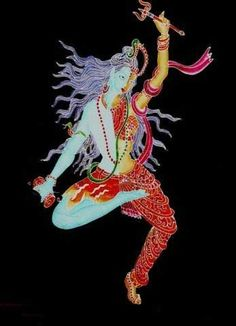 "According to Hindu mythology, Shiva's Tandava is a energetic dance that is the source of the cycle of creation, preservation and dissolution. While the ""Rudra Tandava"" (Dance of fury) depicts his violent nature, first as the creator and later as the destroyer of the universe, even of death itself; the ""Ananda Tandava"" (Dance of Joy) portrays him as cosmic energy."