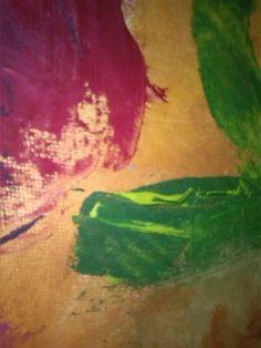 pittura su tela cerata