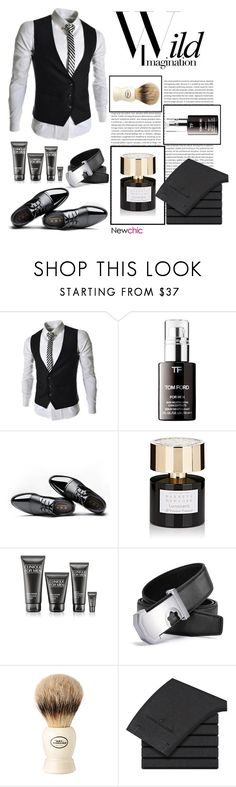 """""""Newchic 13"""" by stileclassico ❤ liked on Polyvore featuring Sephora Collection, Tiziana Terenzi, Clinique, The Art of Shaving, men's fashion, menswear and promoted"""