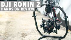 Get hands on with the all new DJI RONIN We go over the new features and overall build of the RONIN Talking about why the RONIN 2 is the ultimate Gimbal. Dji Ronin 2, Dji Drone, Drones, Hands